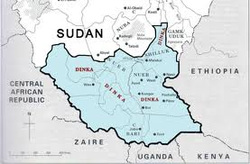 This Is The Map Of Sudan